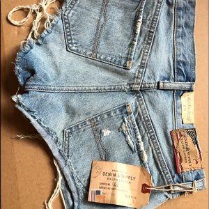 Denim & Supply Ralph Lauren cut off shorts